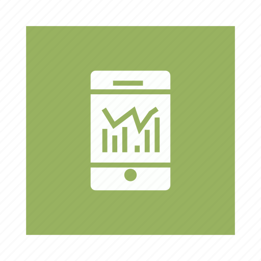 Analysis, analytics, data, graph, mobile icon - Download on Iconfinder