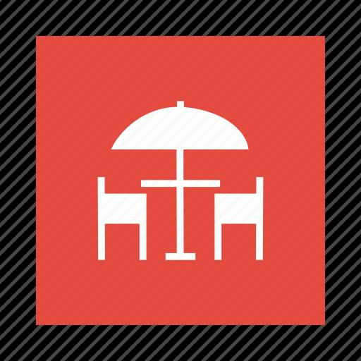 Hotel, interior, service, umbrella icon - Download on Iconfinder
