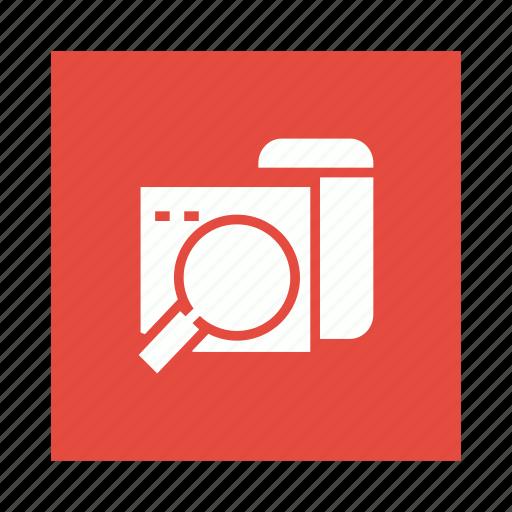 mobile, phone, search, web icon