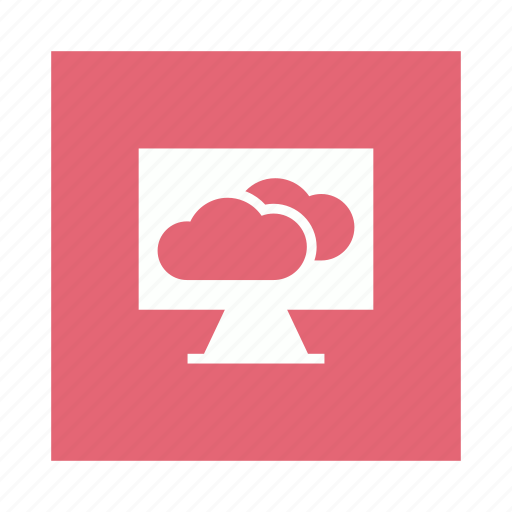 Cloud, monitor, refresh, sync icon - Download on Iconfinder
