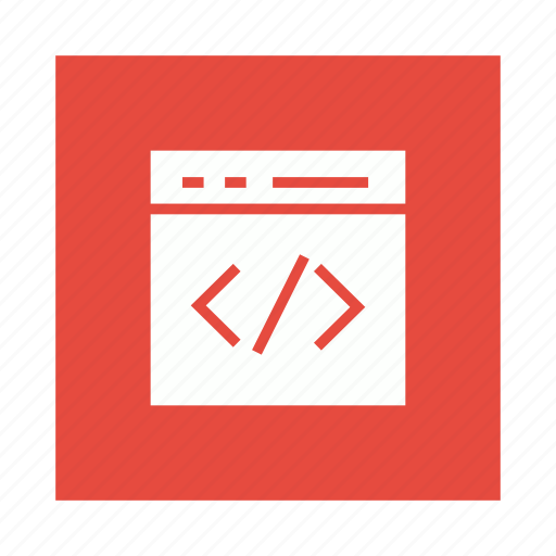 code, coding, development, html, program icon