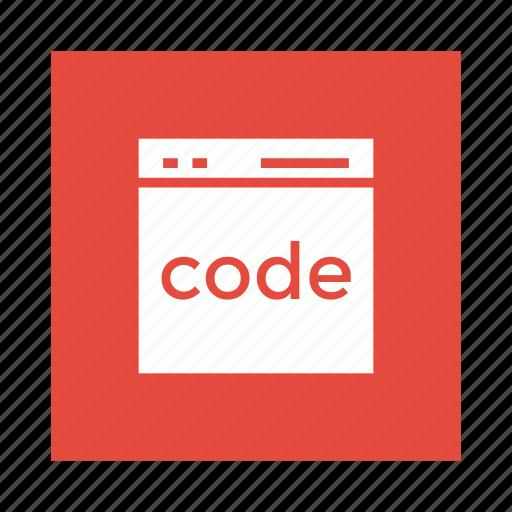 coding, development, program, programming icon