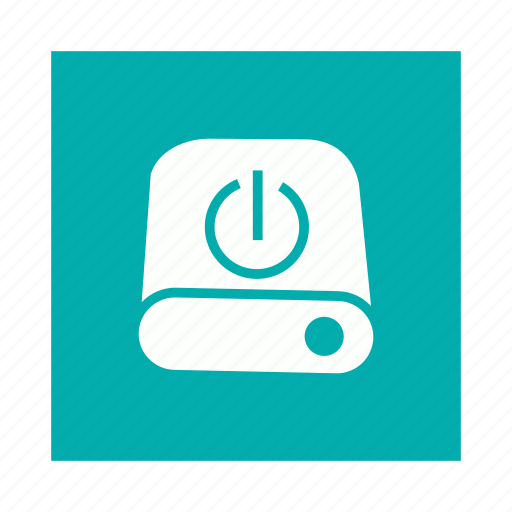 data, disk, drive, storage icon