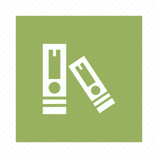 documents, files, library, storage icon