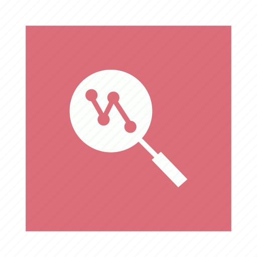 analysis, analytics, find, monitoring, search icon