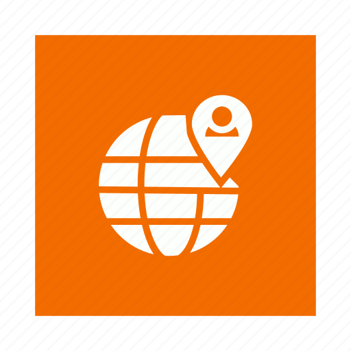 global, international, location, user icon
