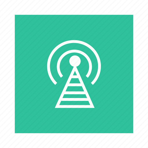 antenna, signal, station, tower icon