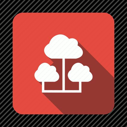 cloud, computing, share, sharing, storage icon