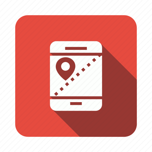 location, mobile, navigation, position icon