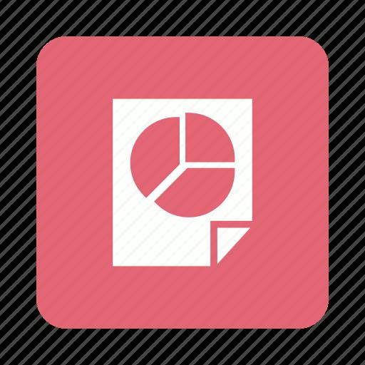 analysis, chart, pie, report icon