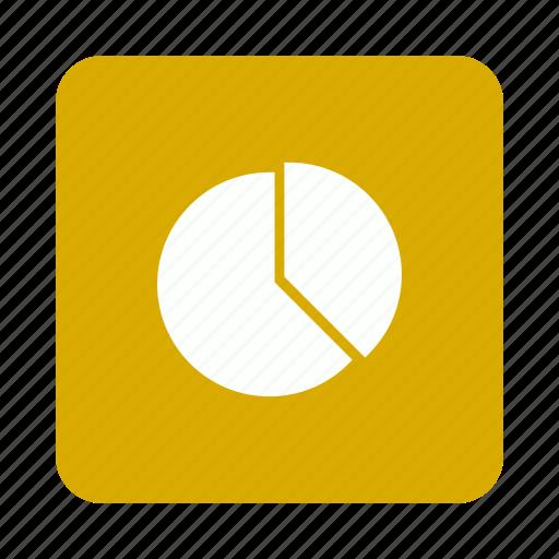 analytics, chart, graph, pie, statistics icon