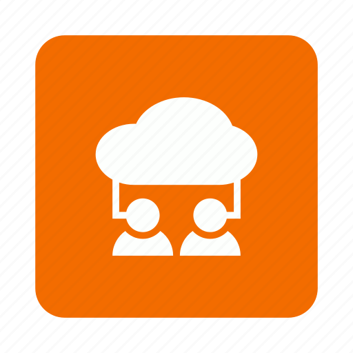 account, cloud, computing, man, user icon