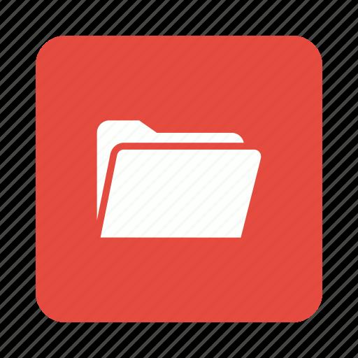 data, files, folder, storage icon