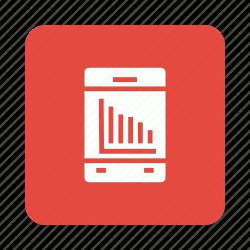 analytics, analyticsapp, mobile, report icon