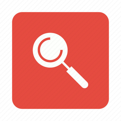 find, magnifier, magnifying, search icon