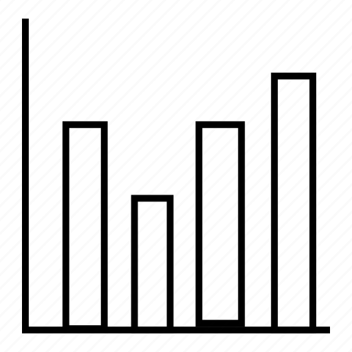 analysis, business, monitor, statistics icon