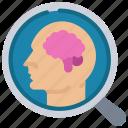 analytics, behaviour, customer, data, research icon