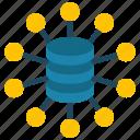 analytics, big, data, information icon