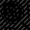 analytics, cluster, data, information icon