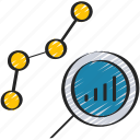 analysis, analytics, data, information icon