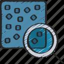 analyse, analytics, cluster, data icon