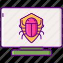 anti, bug, malware, virus icon