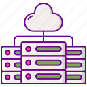 cloud, data, server, storage icon