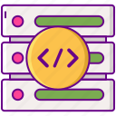 architechture, database, server, storage icon