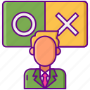 businessman, decision, making, strategy