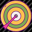 dartboard, determine, object, target