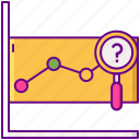 analytics, chart, graph, prediction