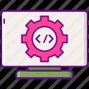 design, developer, software, web icon
