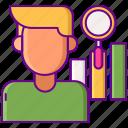 analysis, avatar, profile, user