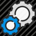 cog, cogwheel, data, options, settings icon