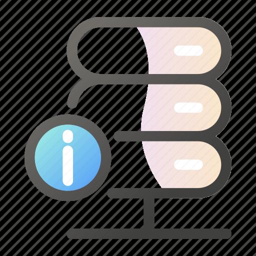 data, information, internet, network icon