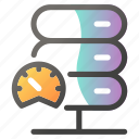 cloud, connection, data, fast, network, speed icon