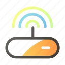 data, internet, network, signal, wifi icon