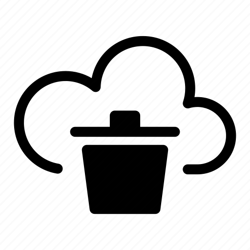 Cloud, computing, data, delete, internet, network, server icon - Download on Iconfinder