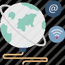 global internet, internet, internet connection, wifi icon