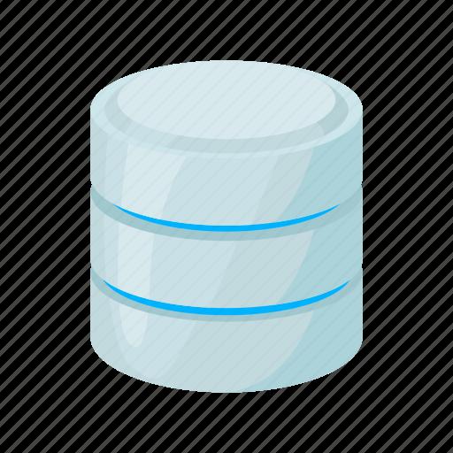 blog, cartoon, data, database, network, site, storage icon