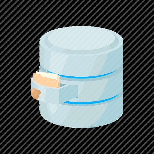 blog, cartoon, database, file, site, store, storing icon