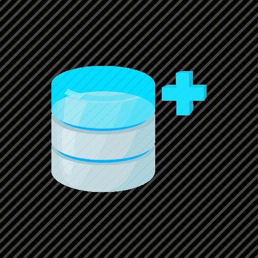 blog, cartoon, data, database, growth, site, storage icon