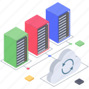 cloud backup, cloud computing, cloud data refresh, cloud syncing, cloud technology, cloud update icon