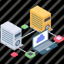 cloud computing, cloud connection, cloud devices, cloud network, cloud services, cloud technology icon