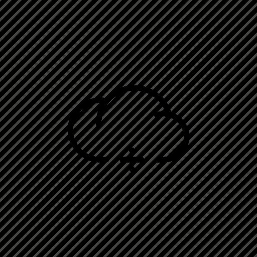cloud, clouds, data, division, equation, mathematics, ÷ icon