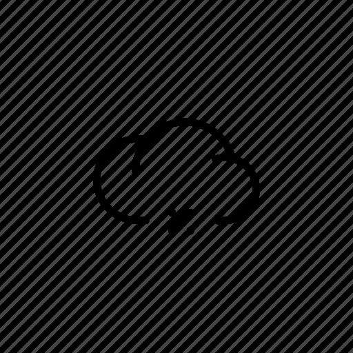 %, cloud, clouds, data, equation, mathematics, sale icon