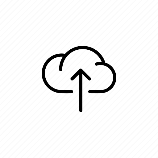arrow, cloud, clouds, data, sync, transfer, upload icon
