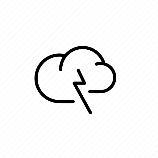 blitz, cloud, clouds, data, flash, light, lightning icon