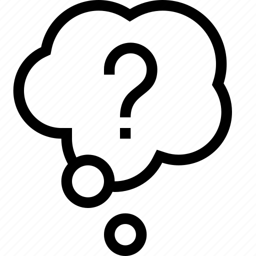 Answer, bubble, cloud, conversation, idea, mark, query icon - Download on Iconfinder
