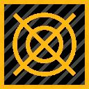 cooler, desktop, device, processor, temperature, unit, ventilator, yellow icon